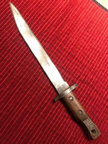 Canadian Ross bayonet