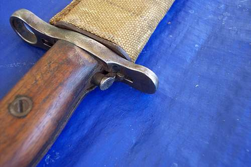 1906 U.S. bayonet ID