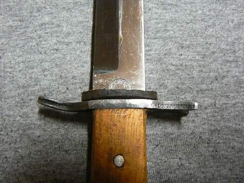 WWI German trench knifes genuine?