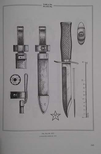 Yugoslav M51 knife