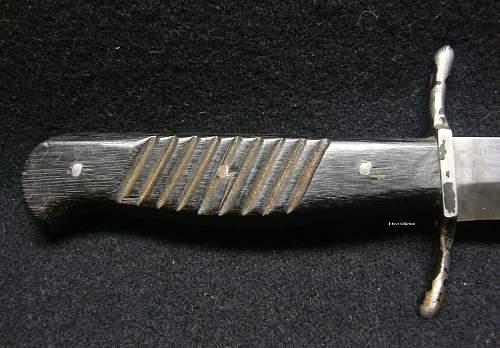 WW I Leupold fighting knife.