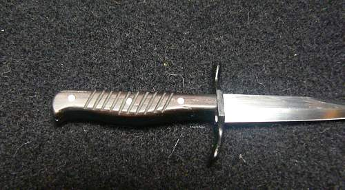 WW I Leupold fighting knife.