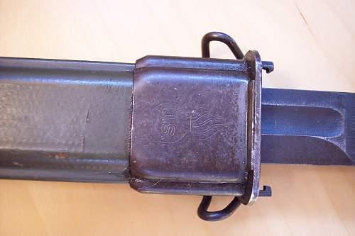 U.S. bayonet