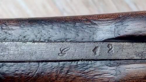 """Gras bayonet with the brand name """" J. V."""""""