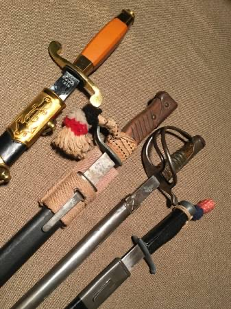 Help Identify These Bayonets, Swords and Miscellaneous Items