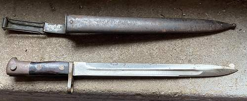 Help identifying this bayonet