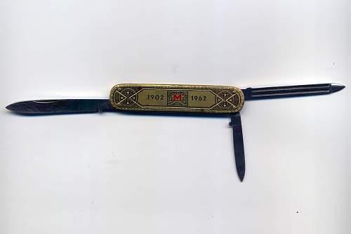 Unknown folding pocket knife