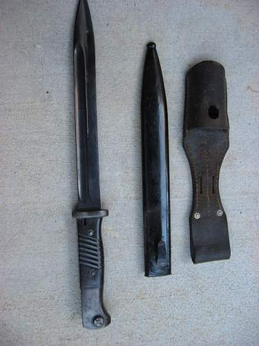 Can someone please identify this bayonet