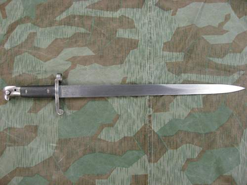 1887 MkIII  Bayonet for Martini Enfield