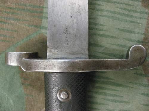 1887 MkIII  Bayonet for Martini Enfield