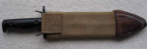 Mod 1910/17 Machine Gunners Knife