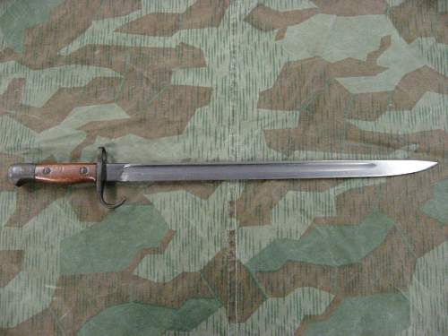 One of My 1907 Hooked Quillion Bayonets