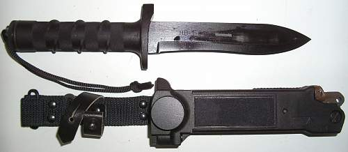 "Russian Survival Knife ""HB-1-01"" ""civilian"", or, ""public authority"" ?????"