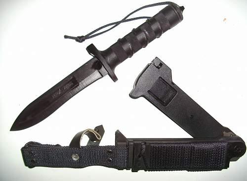"Russian Survival Knife ""HB-1-01"" ""civilian"", or, ""public authority"" ?????"