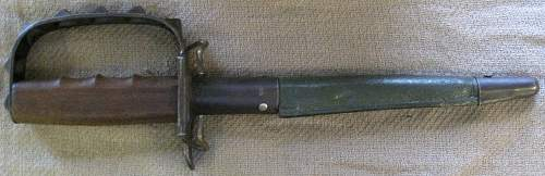 1917 Fighting Knife