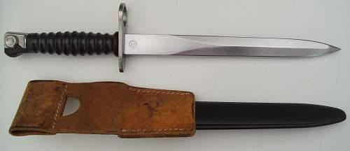 Swiss Model 1957 Bayonet