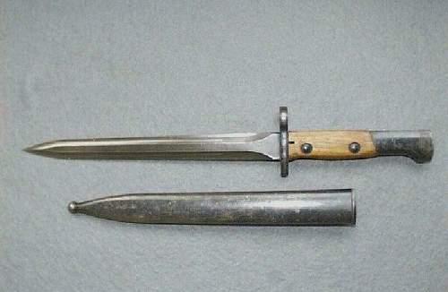Turkish Bayonet......