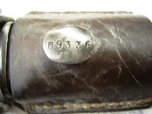 Weyersberg Kirschbaum made bayonet marked & numbered