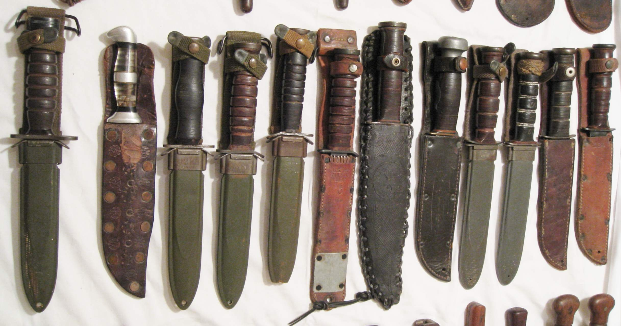 knife collection my knife collection