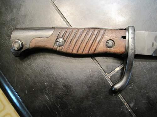 Bayonet?