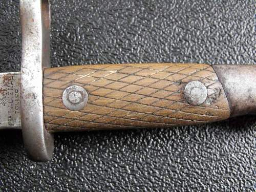 Could anyone identify this bayonet?