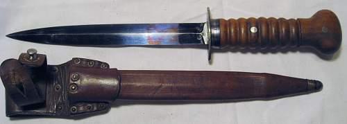 Ww1 Dutch Fighting Knife