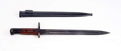 What kind of bayonet is this!!!