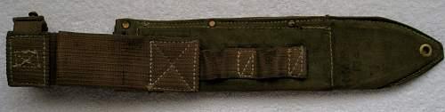 Australian machete bayonet mk1