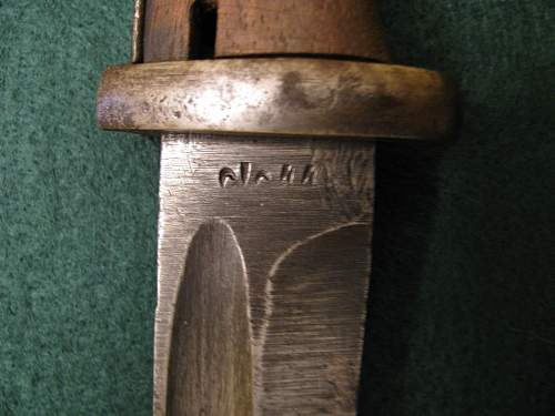 Help with markings on German bayonet