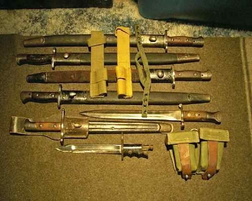 Flea Market bayonets