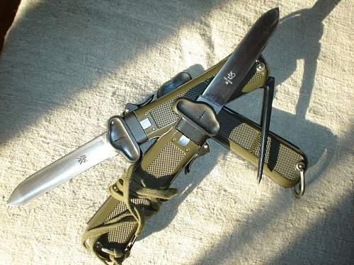 German Gravity Knife, OFW