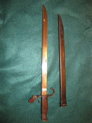 New arisaka bayonet