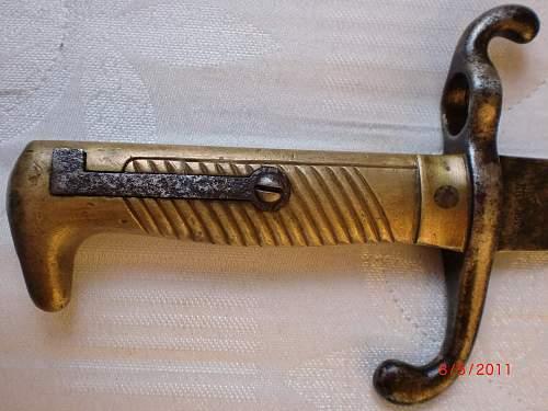 My S71 bayonet