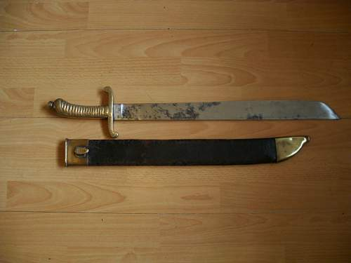 Click image for larger version.  Name:m1854 imperial saxony falchion 001.jpg Views:362 Size:45.2 KB ID:208247