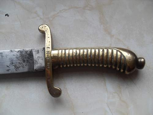 Click image for larger version.  Name:m1854 imperial saxony falchion 006.jpg Views:160 Size:48.5 KB ID:208252