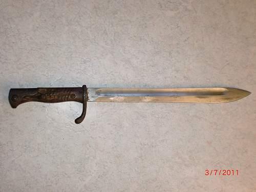 Butcher bayonet
