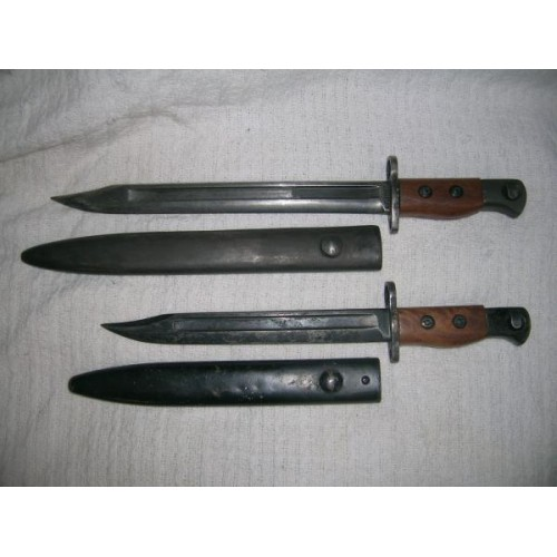 Bayonets I got today