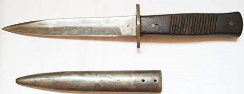 German WW1 fighting knife , original or Fake?