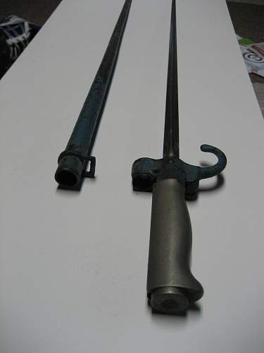 Identification help-bayonet