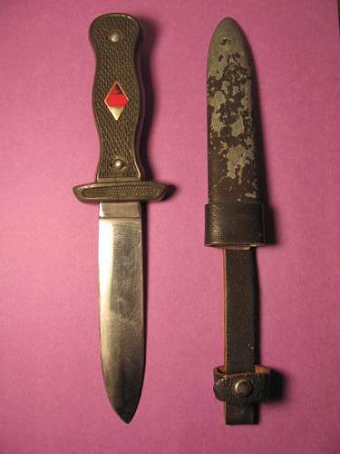 """Unknown knife """"Rehwappen"""""""