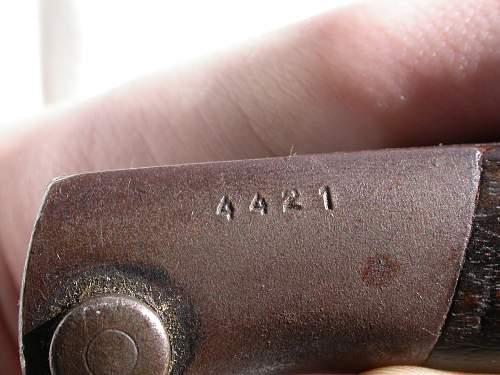 ww1 german bayonet
