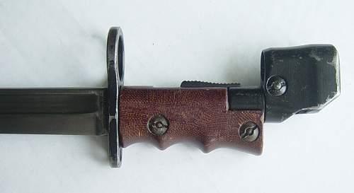 British No7 MkI Land Service Bayonet
