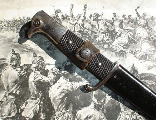private purchased German WWI Armeedolch