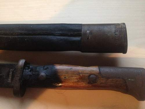 Can someone help me identify this bayonet?