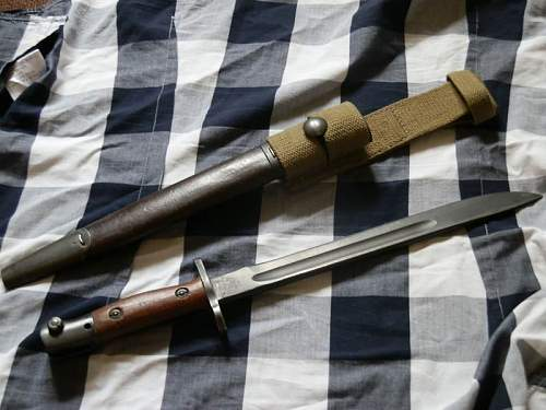 Australian Owen Bayonet