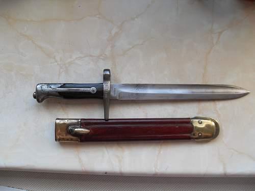Help Identify Bayonet Please