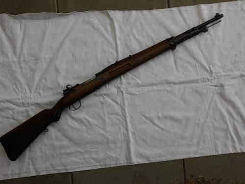 Unidentified bayonet