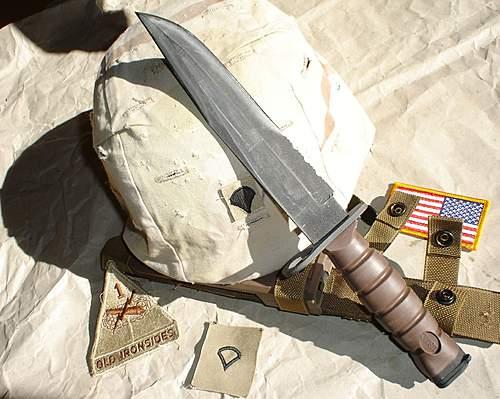 Okc 3s Usmc Bayonet