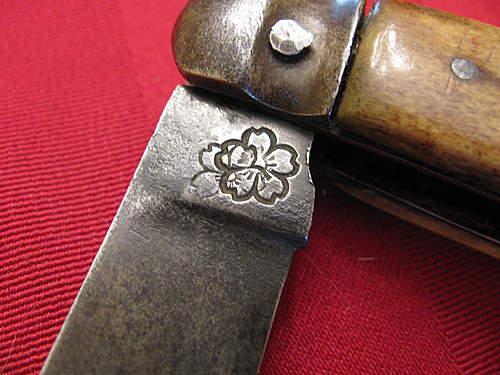 WW2 Japanese folding knife?