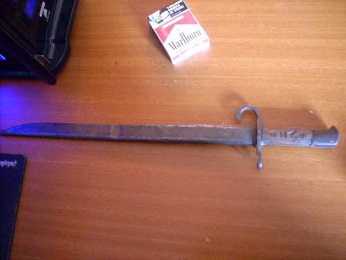 Type 30 Arisaka bayonet Real or Fake
